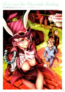 Rating: Safe Score: 22 Tags: animal_ears bunny_ears cleavage fishnets nishieda pantyhose thighhighs User: Radioactive