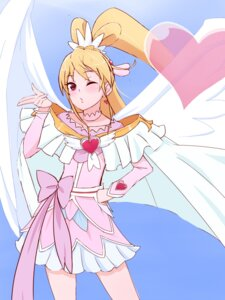 Rating: Safe Score: 8 Tags: aida_mana dokidoki!_precure dress pretty_cure unpale wings User: Radioactive