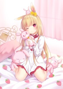 Rating: Safe Score: 85 Tags: amashiro_natsuki animal_ears bunny_ears dress User: Mr_GT