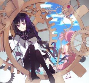 Rating: Safe Score: 21 Tags: akemi_homura enk gun kaname_madoka pantyhose puella_magi_madoka_magica User: animeprincess