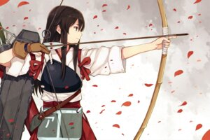 Rating: Safe Score: 60 Tags: akagi_(kancolle) hao_(patinnko) japanese_clothes kantai_collection weapon User: Radioactive