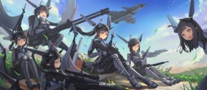 Rating: Safe Score: 24 Tags: gun heels mecha_musume pointy_ears sima_naoteng User: BattlequeenYume