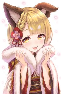 Rating: Safe Score: 35 Tags: animal_ears granblue_fantasy kimono tomo_(user_hes4085) vajra_(granblue_fantasy) User: Mr_GT
