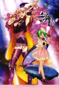 Rating: Safe Score: 19 Tags: cleavage ebata_risa macross macross_frontier ranka_lee sheryl_nome stockings tenjin_hidetaka thighhighs yagishita_hiroshi User: Aurelia