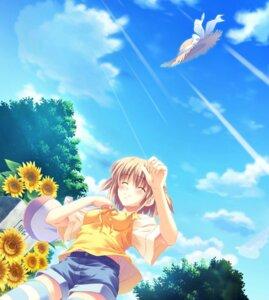 Rating: Safe Score: 14 Tags: game_cg kusukusu moshimo_ashita_ga_hare_naraba nonosaki_tsubasa palette User: Radioactive