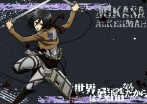 Rating: Safe Score: 17 Tags: mikasa_ackerman shingeki_no_kyojin sword tagme User: Radioactive