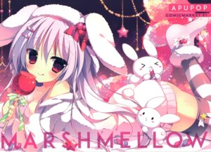 Rating: Questionable Score: 23 Tags: animal_ears apupop ass bunny_ears cleavage muku_(apupop) thighhighs User: Radioactive