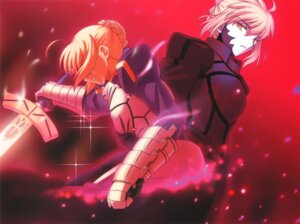 Rating: Safe Score: 31 Tags: armor fate/stay_night fate/unlimited_codes higurashi_ryuuji saber saber_alter sword User: Radioactive
