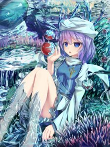 Rating: Questionable Score: 30 Tags: cameltoe dress feet letty_whiterock pantsu seneto touhou User: Injection