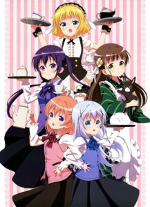 Rating: Safe Score: 51 Tags: anko_(gochuumon_wa_usagi_desuka?) gochuumon_wa_usagi_desu_ka? hoto_cocoa kafuu_chino kirima_sharo maid tedeza_rize tippy_(gochuumon_wa_usagi_desu_ka?) ujimatsu_chiya wa_maid waitress wild_geese User: drop