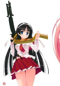 Rating: Safe Score: 16 Tags: gun hidan_no_aria hotogi_shirayuki kobuichi seifuku User: Anonymous