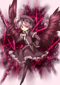 Rating: Safe Score: 11 Tags: remilia_scarlet shirogane_usagi touhou wings zatracenie User: charunetra