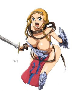 Rating: Questionable Score: 13 Tags: armor cleavage leina maaru queen's_blade User: Radioactive
