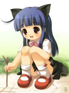 Rating: Questionable Score: 30 Tags: akiba_hideki animal_ears funifuniya furude_rika higurashi_no_naku_koro_ni loli nekomimi pantsu seifuku User: hugo_victor