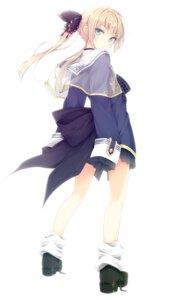 Rating: Safe Score: 63 Tags: isoshima_kurumi luna_lia mahou_sensou User: fairyren