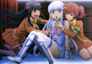 Rating: Questionable Score: 55 Tags: aoki_hagane_no_arpeggio ashigara_(aoki_hagane_no_arpeggio) haguro_(aoki_hagane_no_arpeggio) iona seifuku thighhighs User: drop