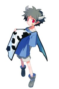Rating: Safe Score: 5 Tags: disgaea harada_takehito horns male taro_(disgaea) User: Radioactive