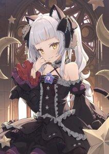 Rating: Safe Score: 21 Tags: animal_ears gothic_lolita hololive lolita_fashion murasaki_shion nekomimi tail tam-u User: BattlequeenYume