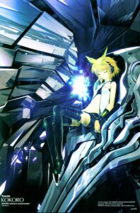 Rating: Safe Score: 25 Tags: kagamine_rin redjuice thighhighs vocaloid User: Radioactive