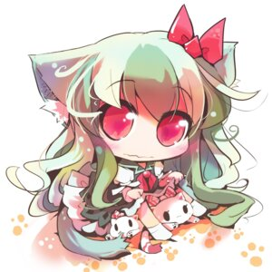 Rating: Safe Score: 14 Tags: aliasing animal_ears chibi ex_keine kamishirasawa_keine tail touhou usoneko User: Radioactive