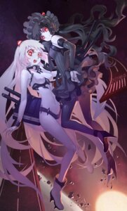 Rating: Safe Score: 50 Tags: airfield_hime criin gothic_lolita heels horns isolated_island_oni kantai_collection lolita_fashion pantyhose User: Mr_GT