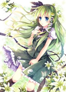 Rating: Safe Score: 39 Tags: kochiya_sanae marimo_moka touhou User: 椎名深夏