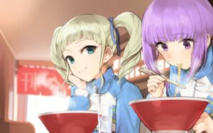 Rating: Safe Score: 31 Tags: aikatsu! gym_uniform hikami_sumire hitoto toudou_yurika User: nphuongsun93