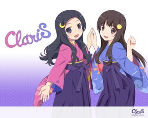 Rating: Safe Score: 26 Tags: alice_(claris) clara claris japanese_clothes wallpaper watanabe_akio User: milumon