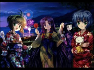 Rating: Safe Score: 23 Tags: air card_captor_sakura daidouji_tomoyo kannabi_no_mikoto kimono kinomoto_sakura kirishima_kano moonknives potato wallpaper yukata User: blooregardo