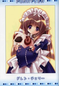 Rating: Safe Score: 11 Tags: amamiya_polan fairy_factory maid scanning_artifacts seika User: MDGeist