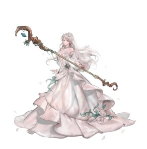 Rating: Safe Score: 37 Tags: 96dgd cleavage dress elf no_bra pointy_ears weapon witch User: mash