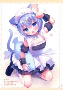 Rating: Questionable Score: 19 Tags: animal_ears loli maid nekomimi tagme usashiro_mani User: Radioactive