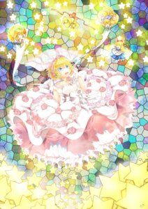 Rating: Safe Score: 11 Tags: 3000kojun alice_margatroid dress shanghai touhou wedding_dress User: 乐舞纤尘醉华音