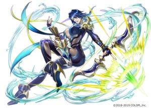 Rating: Questionable Score: 17 Tags: armor bodysuit heels no_bra open_shirt saihate_no_babel tagme weapon User: saemonnokami