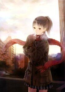 Rating: Safe Score: 34 Tags: kishida_mel maigo_tsuushin seifuku User: androgyne