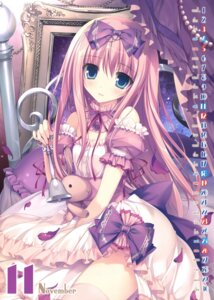 Rating: Safe Score: 96 Tags: calendar dress karory thighhighs User: Twinsenzw