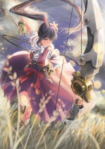 Rating: Safe Score: 14 Tags: ayame_(kabaneri) ebisu_takuma koutetsujou_no_kabaneri weapon User: saemonnokami