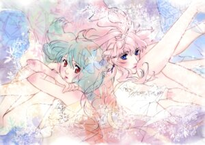Rating: Safe Score: 20 Tags: dress ebata_risa macross macross_frontier ranka_lee sheryl_nome User: drop