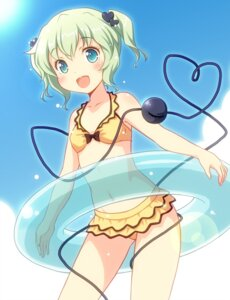 Rating: Safe Score: 26 Tags: bikini komeiji_koishi swimsuits touhou yamasan User: 乐舞纤尘醉华音