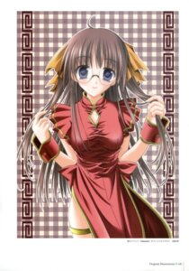 Rating: Questionable Score: 13 Tags: amane_sou chinadress megane User: Radioactive