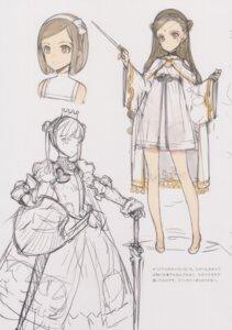 Rating: Questionable Score: 7 Tags: dress oyari_ashito pantsu see_through shoujo_kishidan sketch sword tagme weapon User: Radioactive