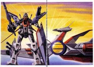 Rating: Safe Score: 3 Tags: gundam gundam_f90 mecha okawara_kunio User: Radioactive