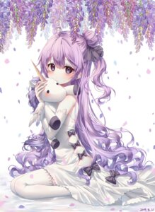 Rating: Safe Score: 6 Tags: azur_lane dress horns tagme thighhighs unicorn_(azur_lane) wings User: charunetra