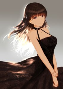 Rating: Safe Score: 61 Tags: cleavage dress higandgk User: BattlequeenYume