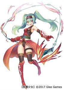 Rating: Safe Score: 32 Tags: armor dakunesu garter houchi_shoujo leotard thighhighs weapon User: nphuongsun93