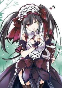 Rating: Safe Score: 123 Tags: date_a_live gothic_lolita heterochromia lolita_fashion stockings thighhighs tokisaki_kurumi tsunako User: kiyoe