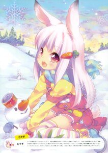 Rating: Safe Score: 48 Tags: animal_ears bunny_ears dress ech tail thighhighs User: Twinsenzw