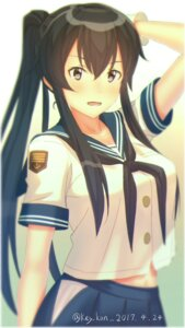 Rating: Questionable Score: 21 Tags: kantai_collection key_kun seifuku signed yahagi_(kancolle) User: Poubelle