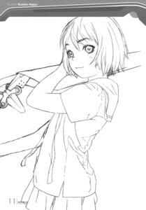 Rating: Safe Score: 9 Tags: houjou_kuniko monochrome range_murata seifuku shangri-la sketch User: Share