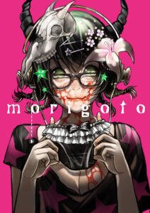 Rating: Safe Score: 21 Tags: blood horns megane pantsu_moriko User: Radioactive